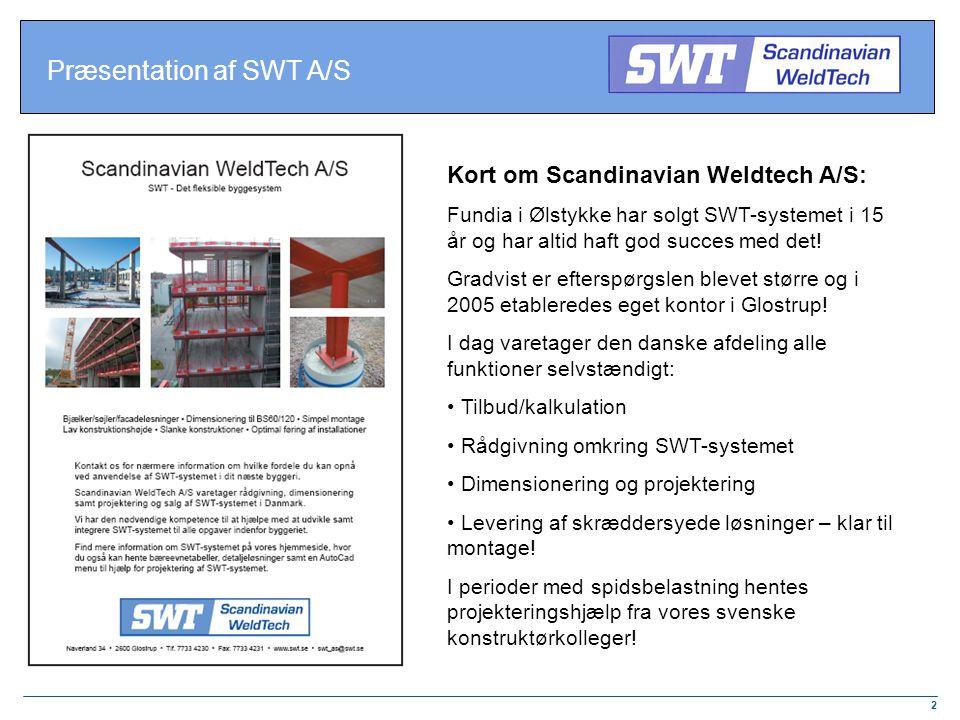 Præsentation af SWT A/S