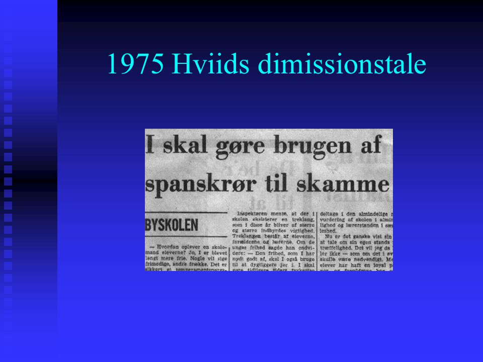 1975 Hviids dimissionstale
