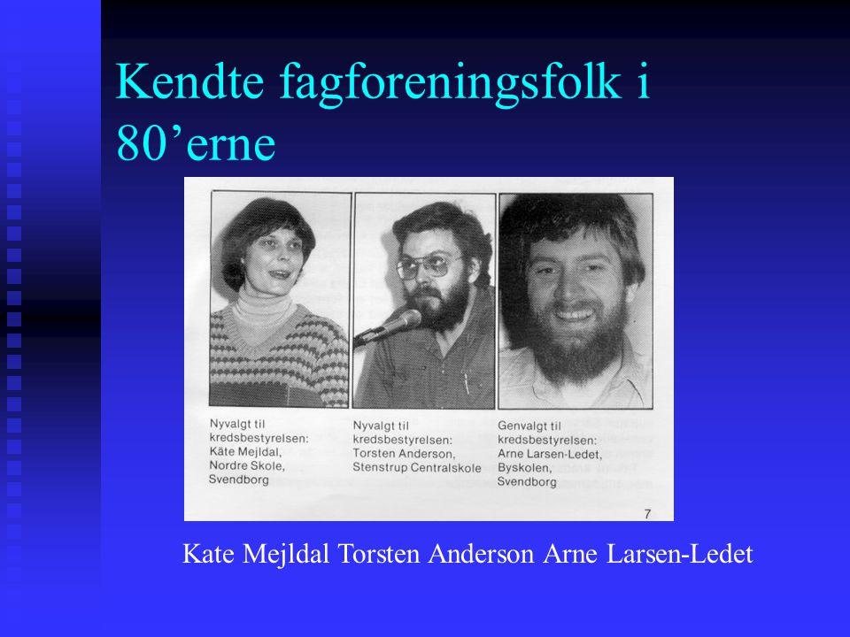 Kendte fagforeningsfolk i 80'erne