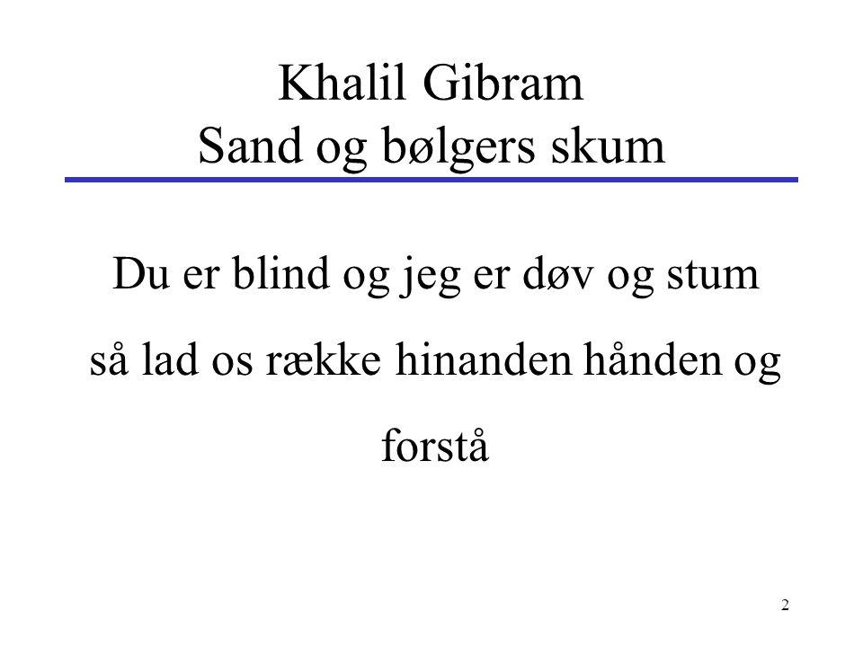 Khalil Gibram Sand og bølgers skum