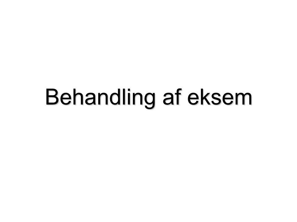 Behandling af eksem