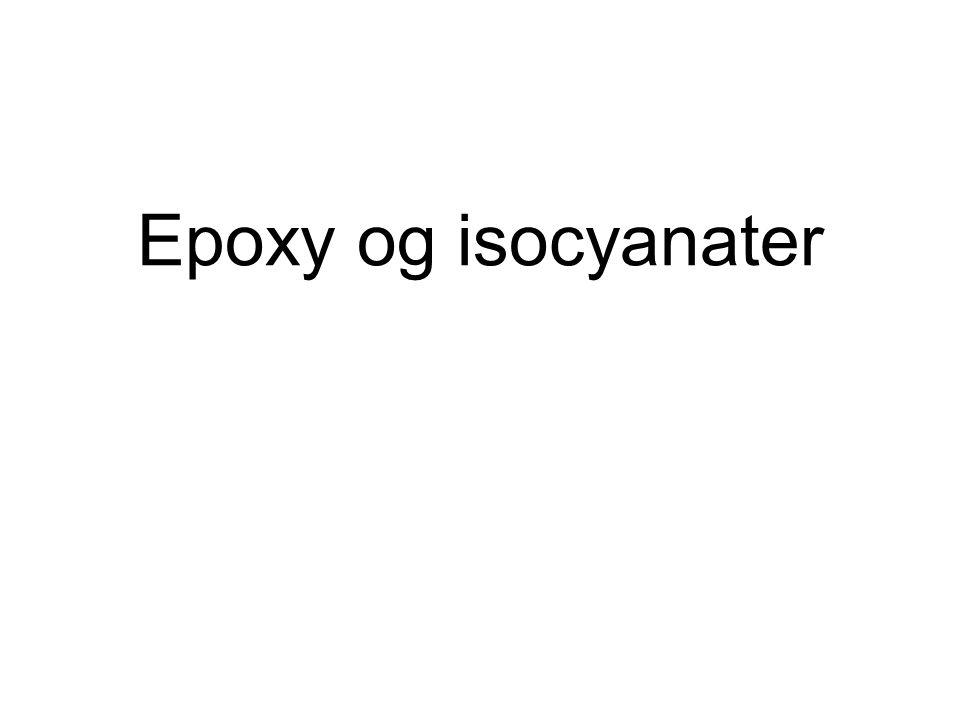 Epoxy og isocyanater