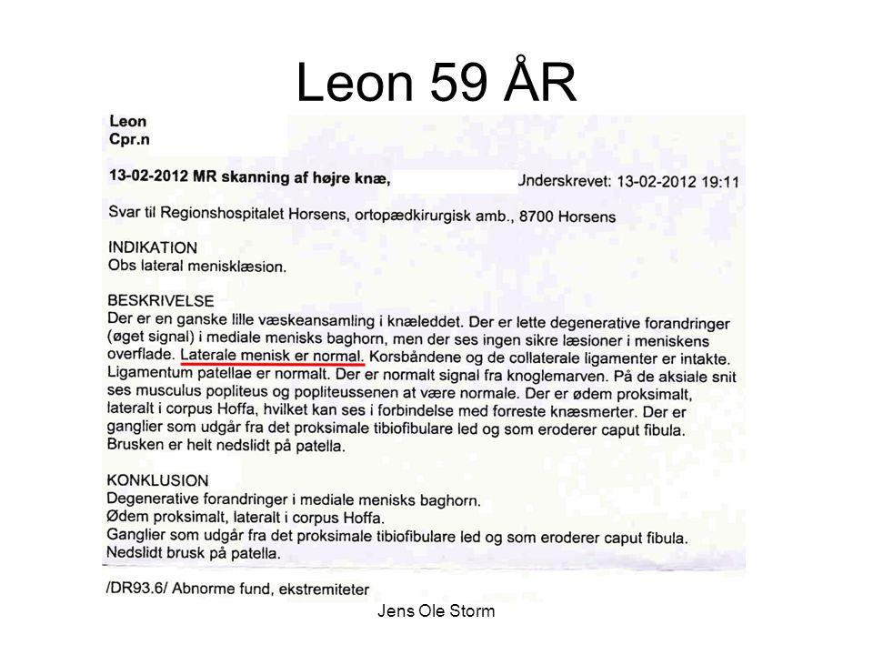 Leon 59 ÅR Jens Ole Storm