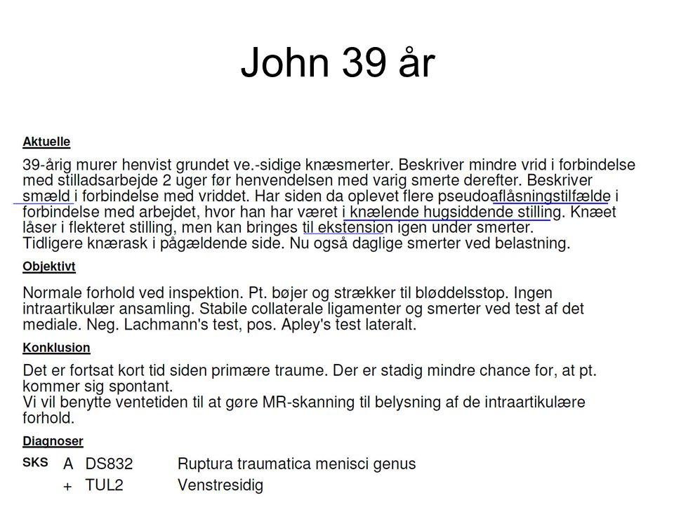 John 39 år Jens Ole Storm