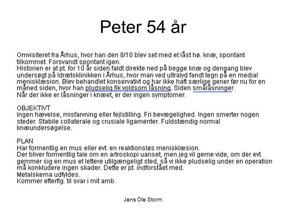 Peter 54 år Jens Ole Storm