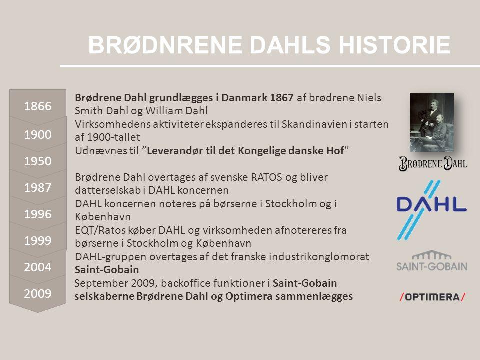 BRØDNRENE DAHLS HISTORIE
