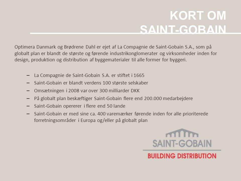 KORT OM SAINT-GOBAIN