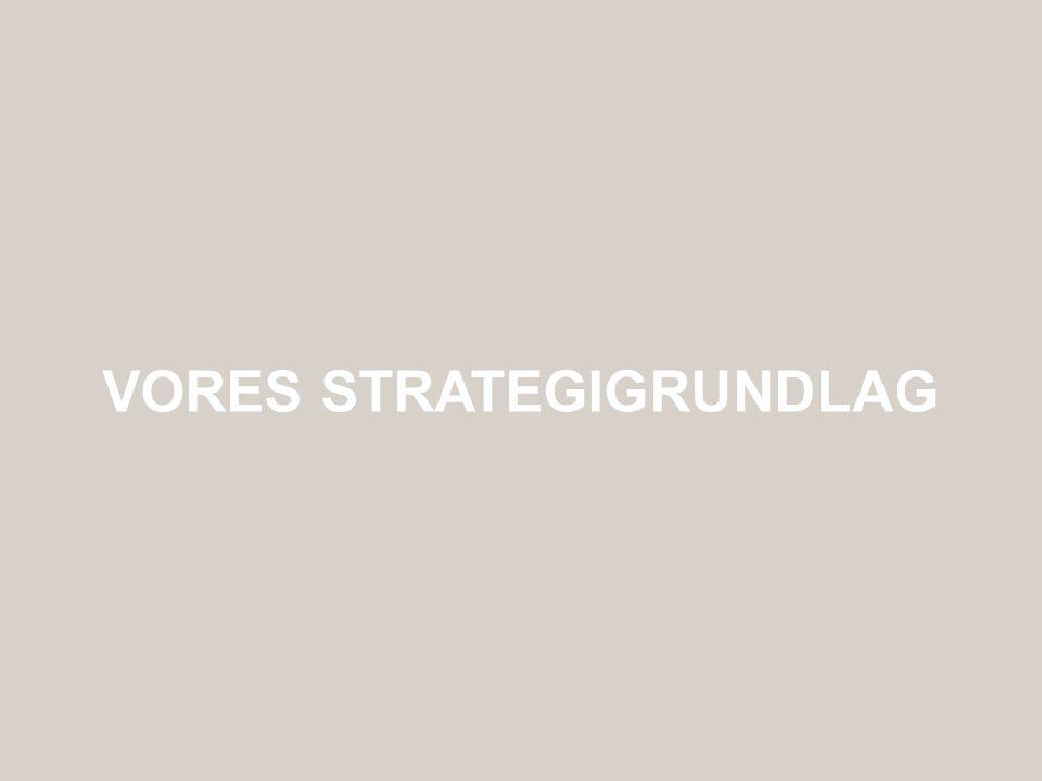 Vores strategigrundlag