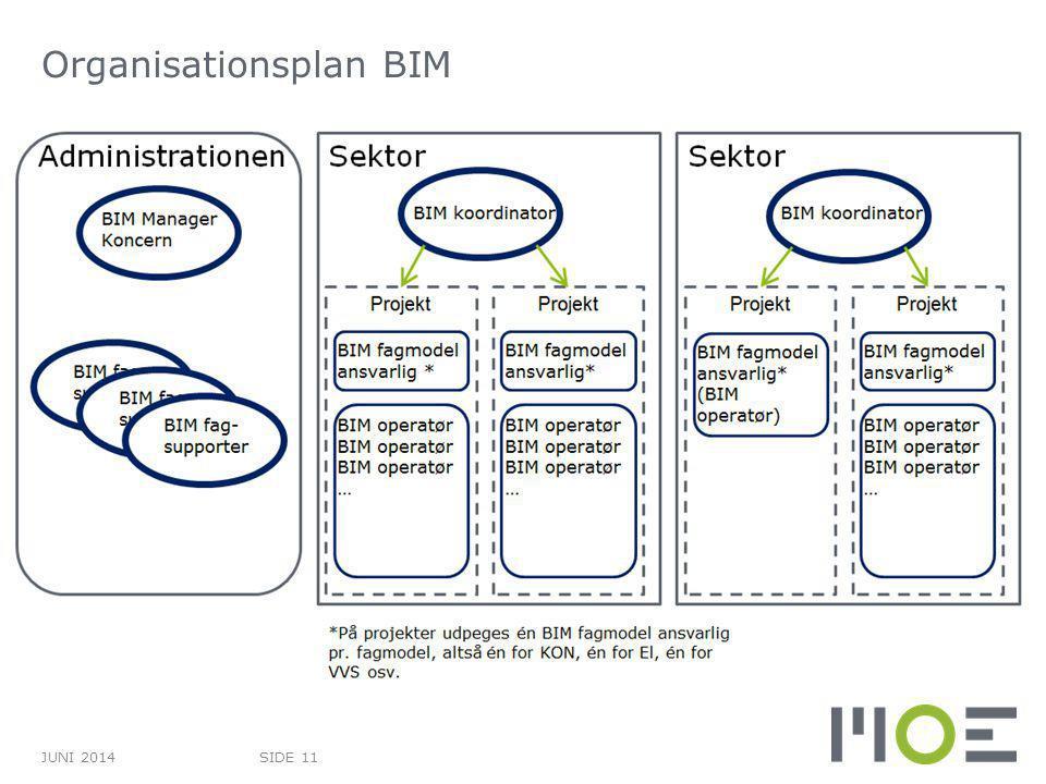Organisationsplan BIM