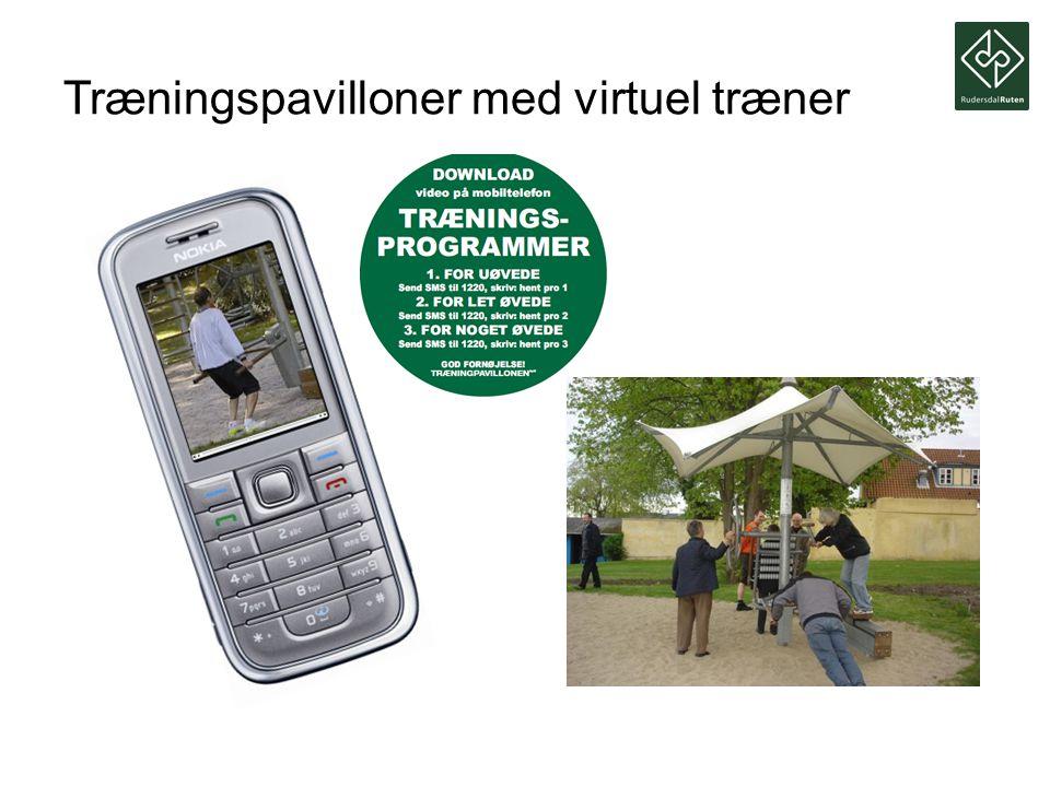 Træningspavilloner med virtuel træner