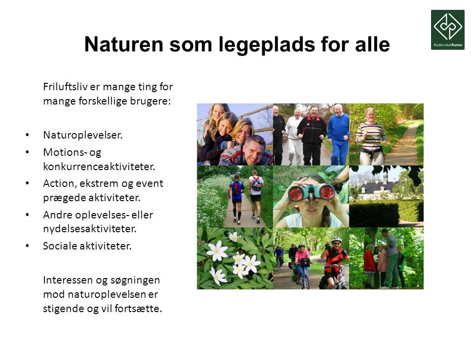Naturen som legeplads for alle