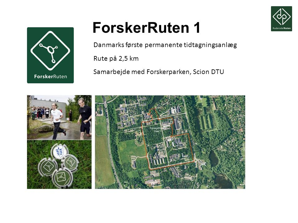 ForskerRuten 1 Danmarks første permanente tidtagningsanlæg