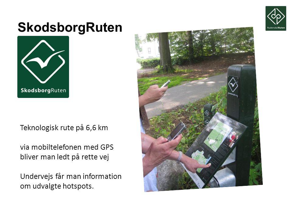 SkodsborgRuten Teknologisk rute på 6,6 km