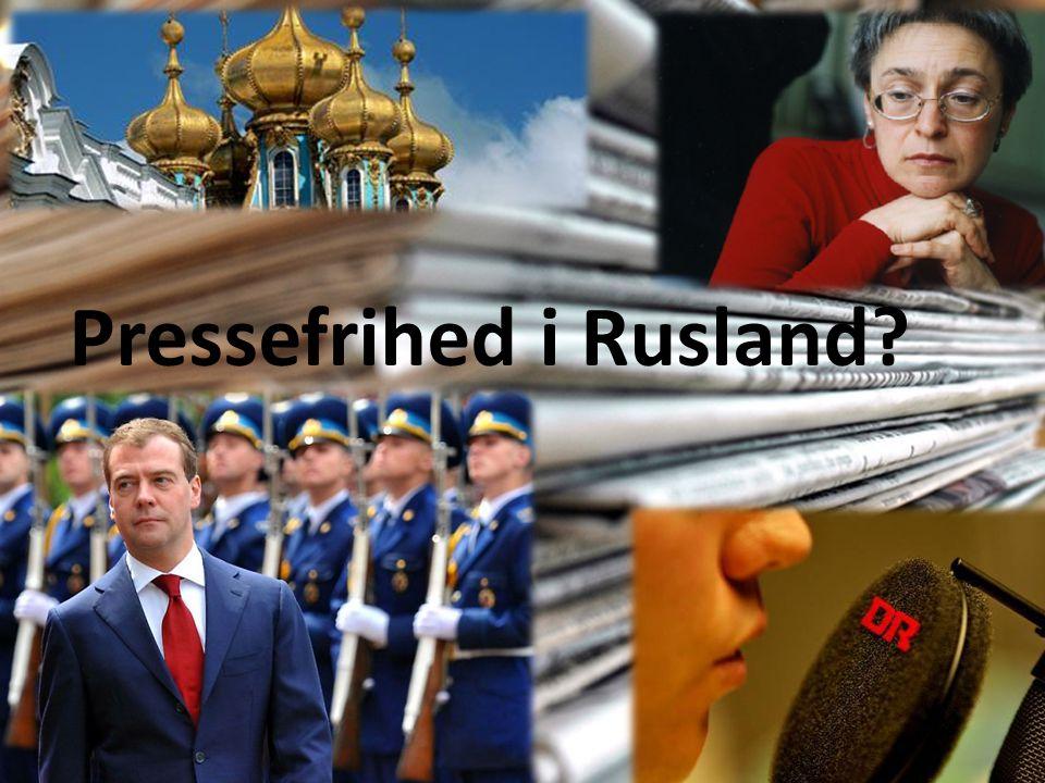 Pressefrihed i Rusland