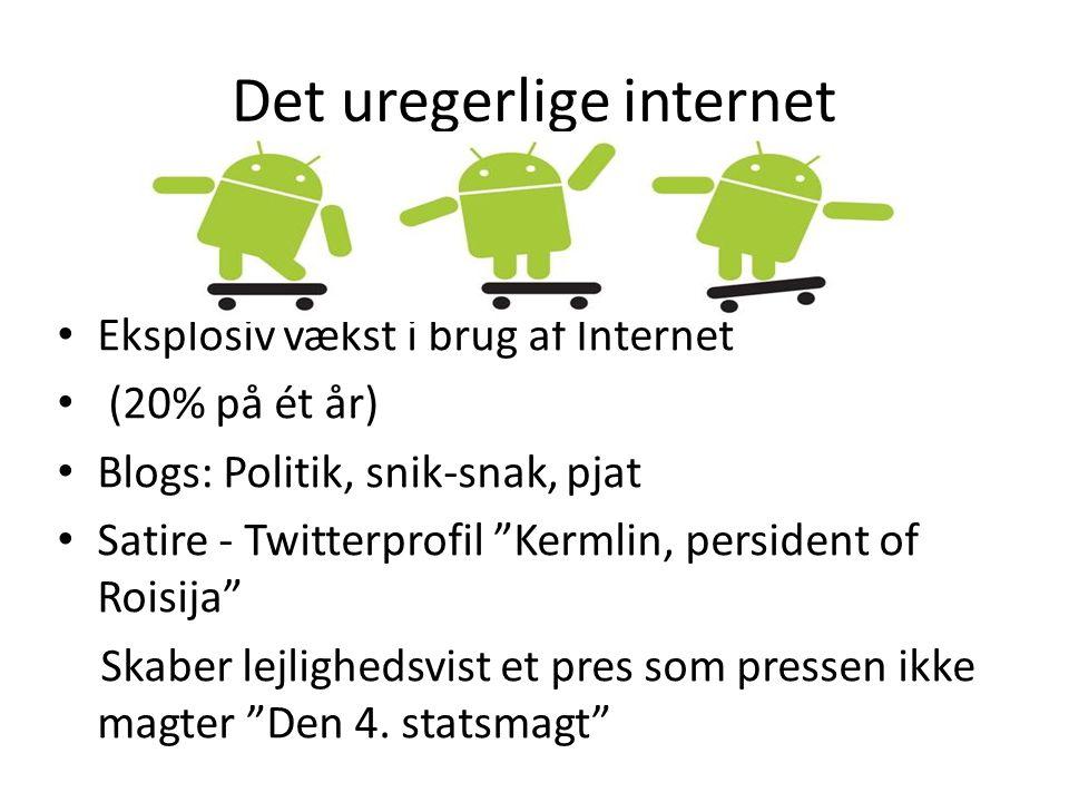 Det uregerlige internet