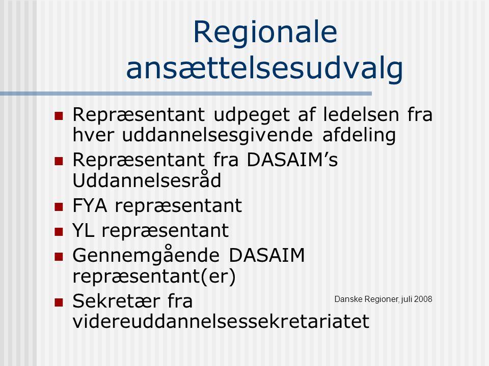 Regionale ansættelsesudvalg