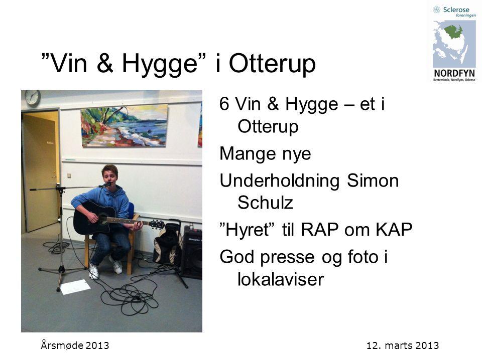 Vin & Hygge i Otterup 6 Vin & Hygge – et i Otterup Mange nye