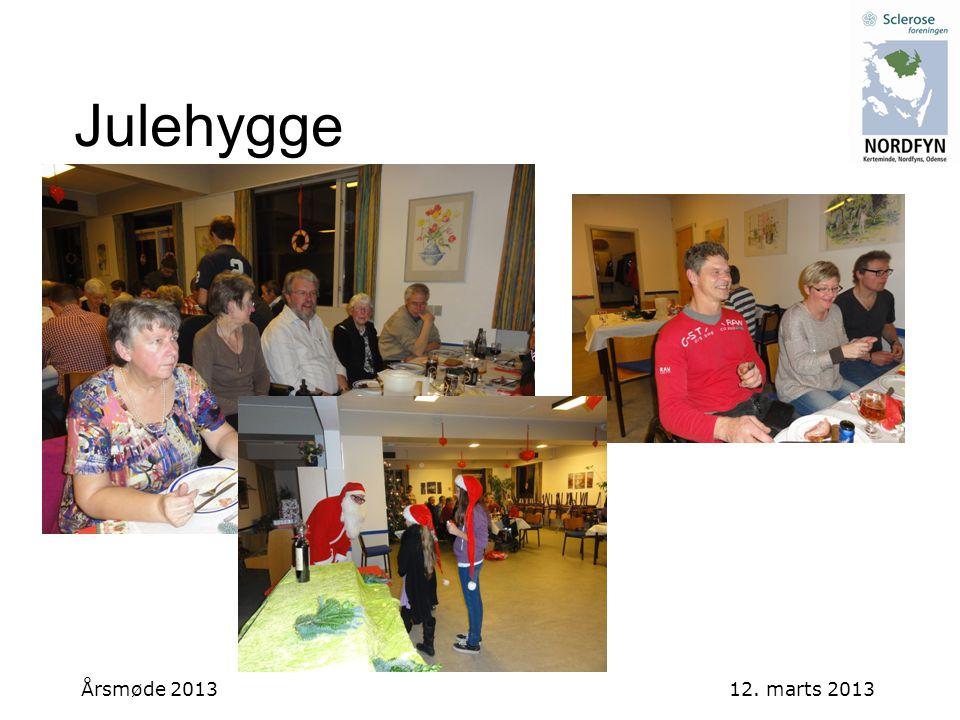 Julehygge Årsmøde 2013 12. marts 2013