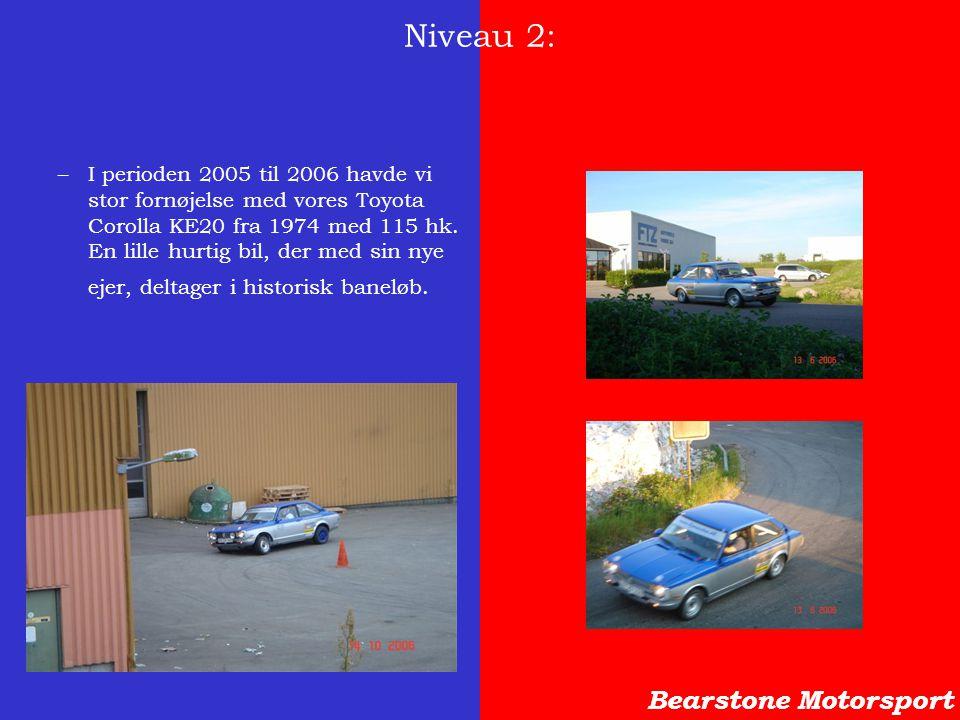Niveau 2: Bearstone Motorsport