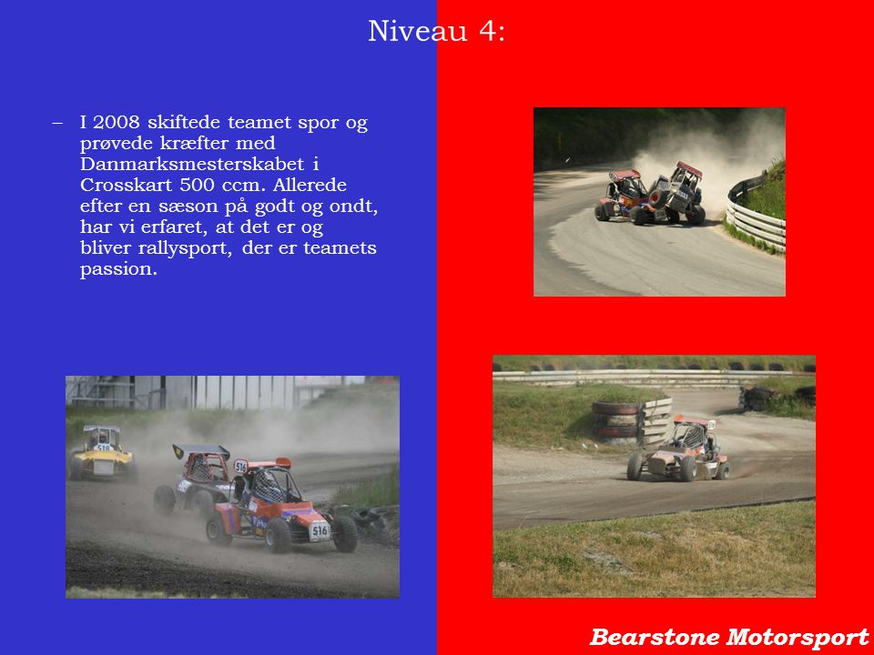 Niveau 4: Bearstone Motorsport