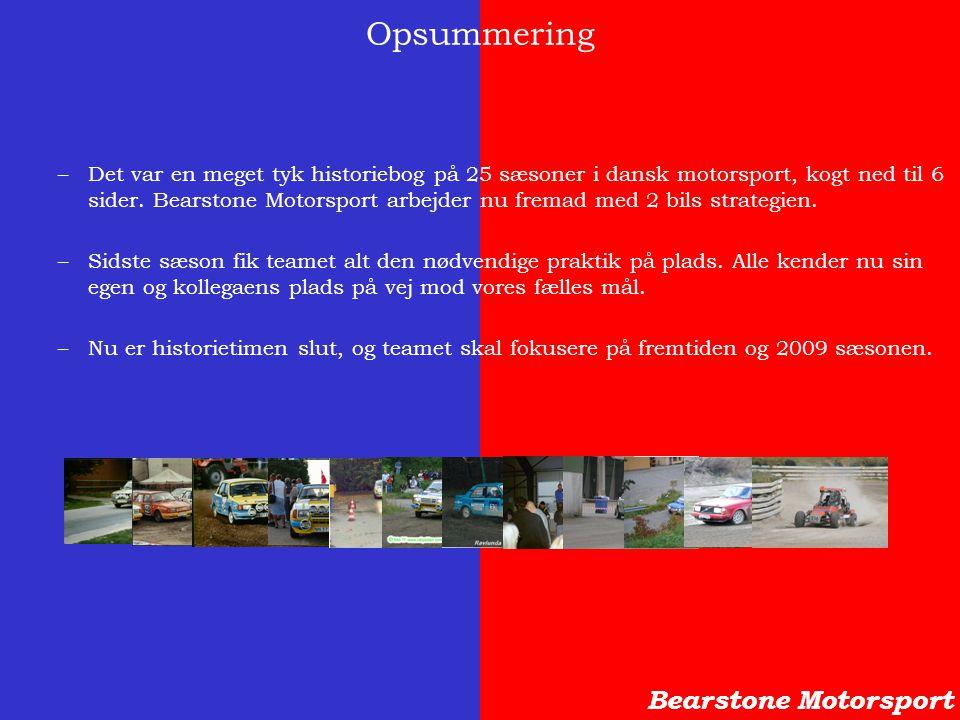 Opsummering Bearstone Motorsport