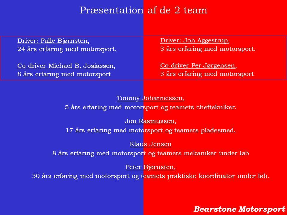 Præsentation af de 2 team
