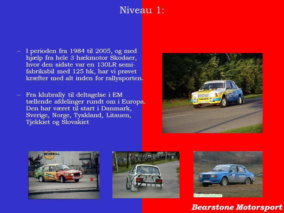 Niveau 1: Bearstone Motorsport