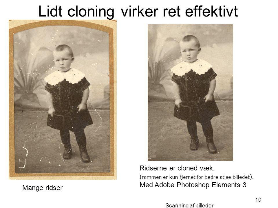 Lidt cloning virker ret effektivt