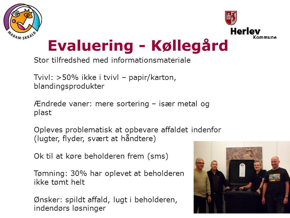Evaluering - Køllegård