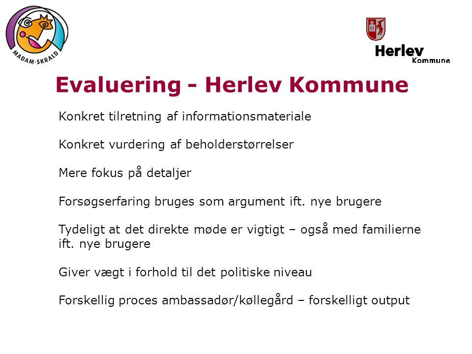 Evaluering - Herlev Kommune