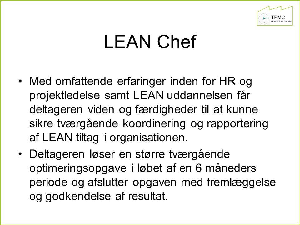 LEAN Chef