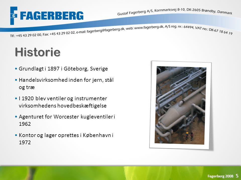 Historie Grundlagt i 1897 i Göteborg, Sverige