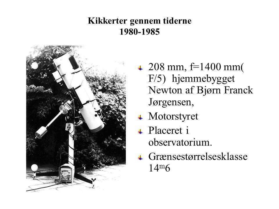 Kikkerter gennem tiderne 1980-1985
