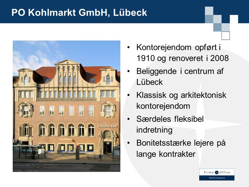 PO Kohlmarkt GmbH, Lübeck