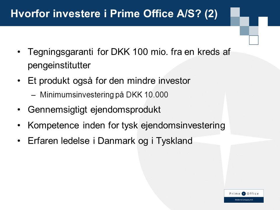 Hvorfor investere i Prime Office A/S (2)
