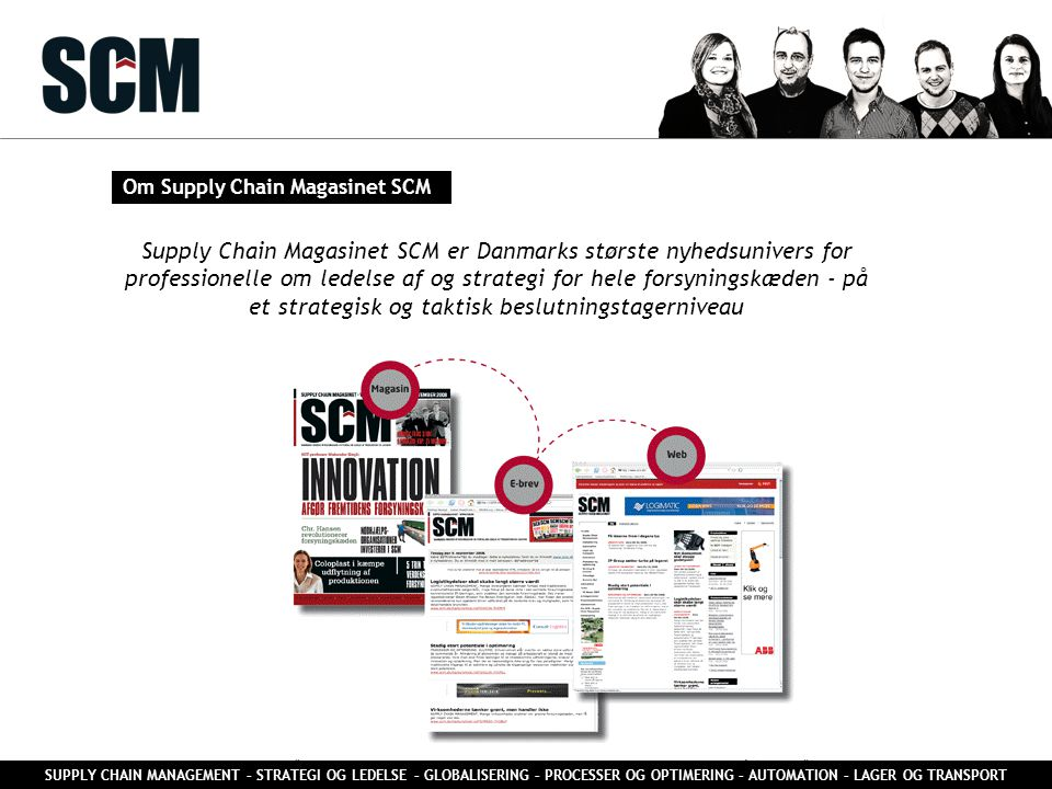Om Supply Chain Magasinet SCM