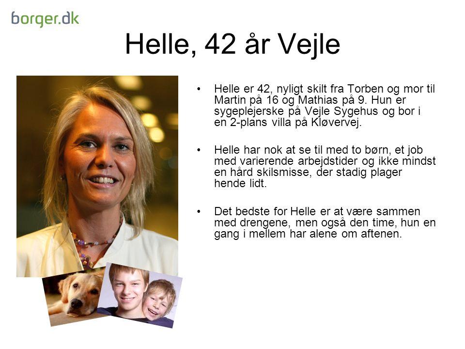 Helle, 42 år Vejle