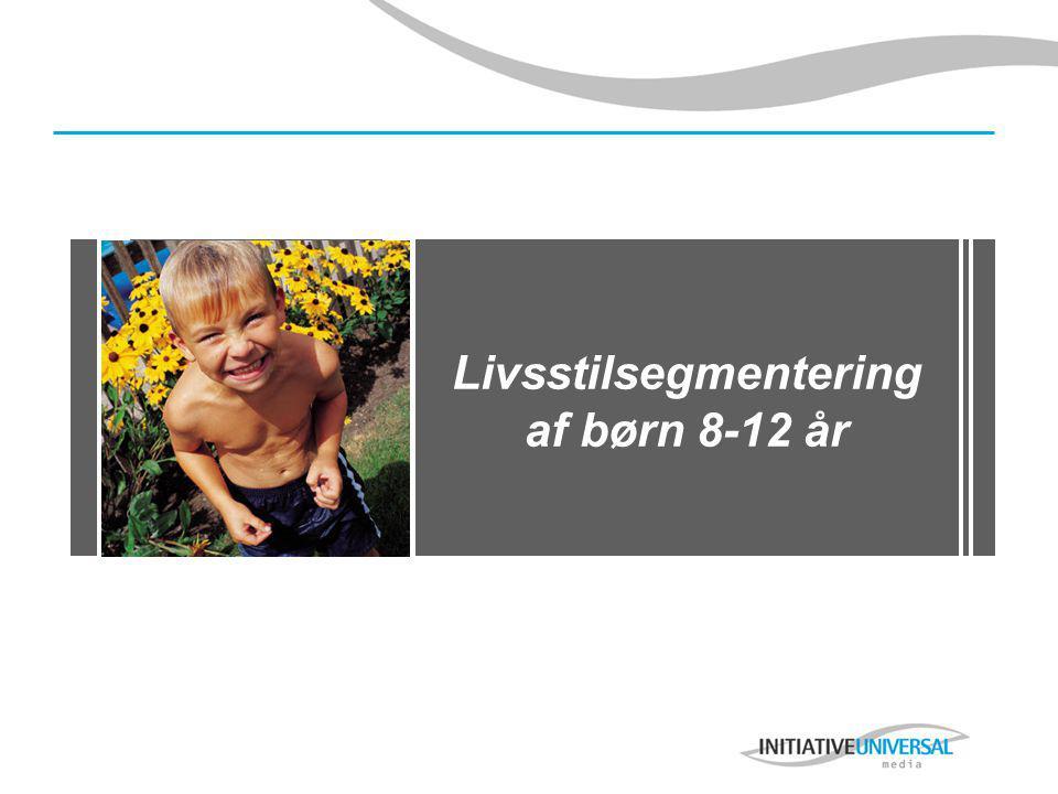 Livsstilsegmentering af børn 8-12 år