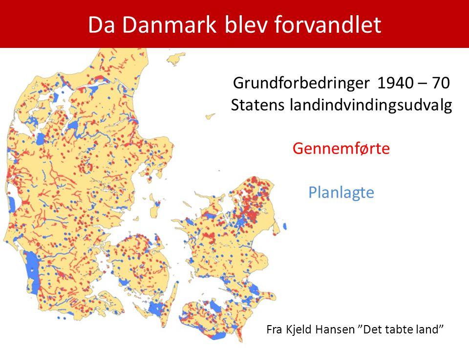 Da Danmark blev forvandlet