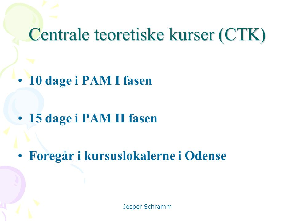 Centrale teoretiske kurser (CTK)