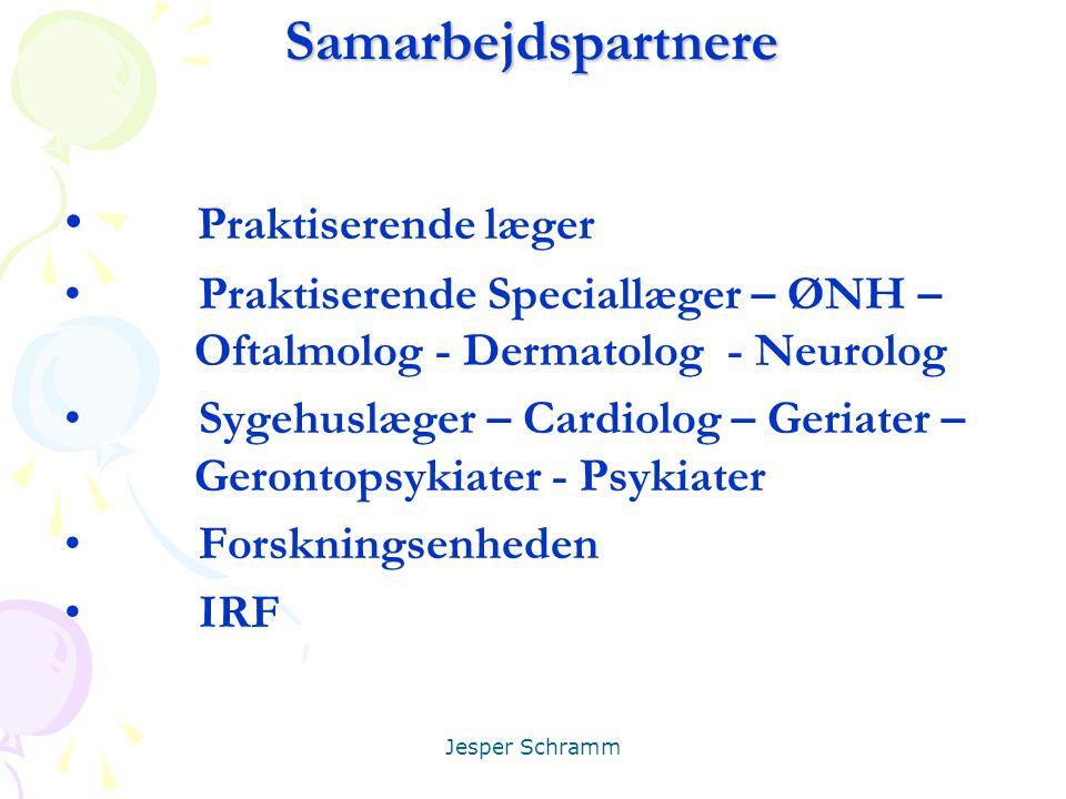 Samarbejdspartnere Praktiserende læger