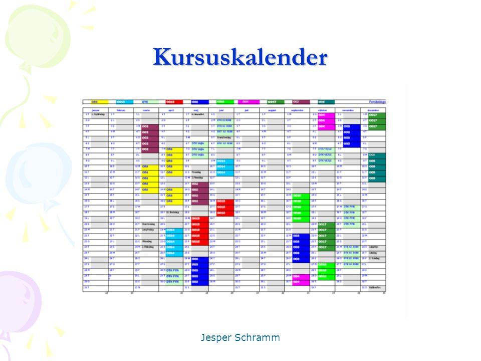 Kursuskalender Jesper Schramm