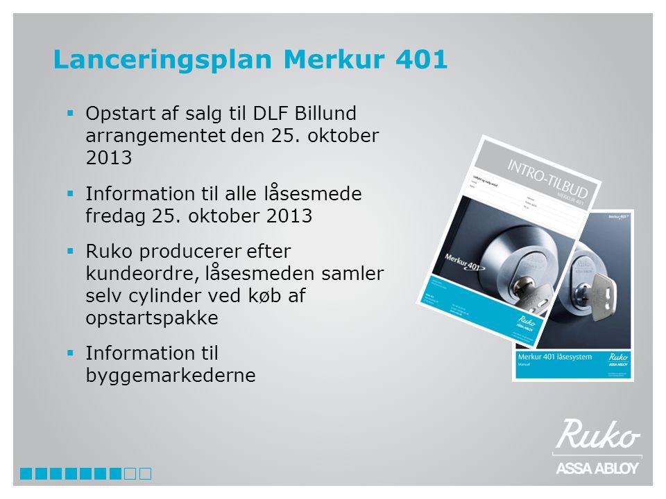 Lanceringsplan Merkur 401