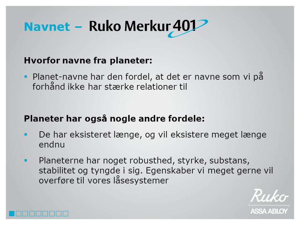 Navnet – Hvorfor navne fra planeter: