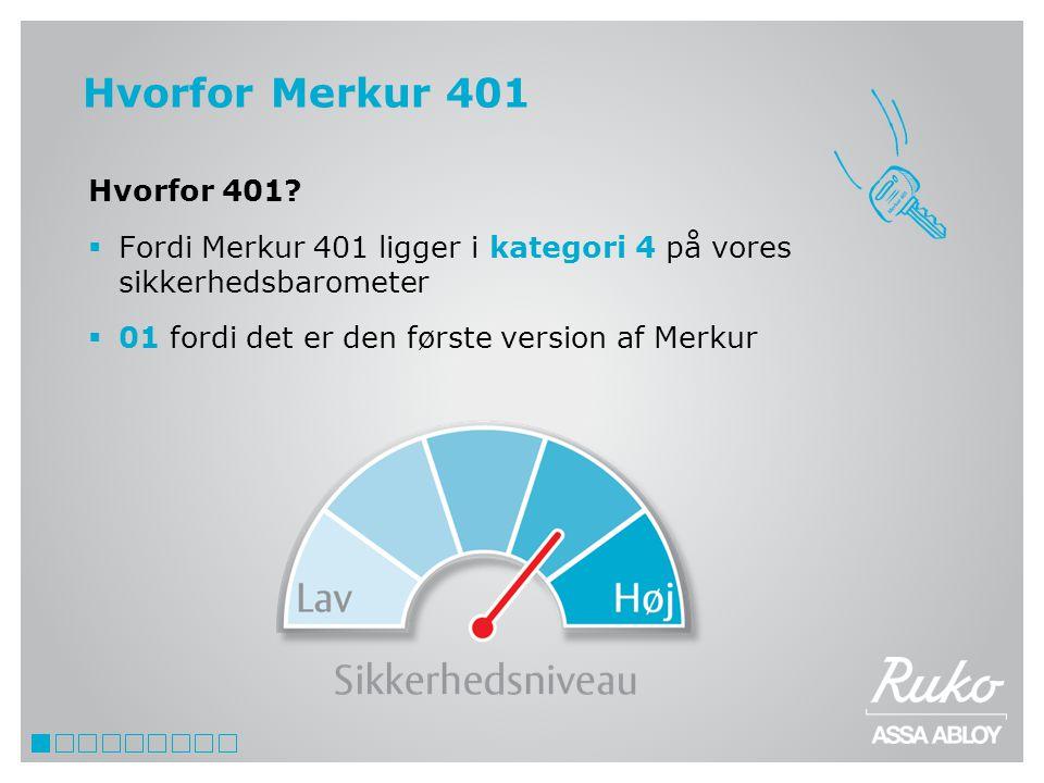 Hvorfor Merkur 401 Hvorfor 401