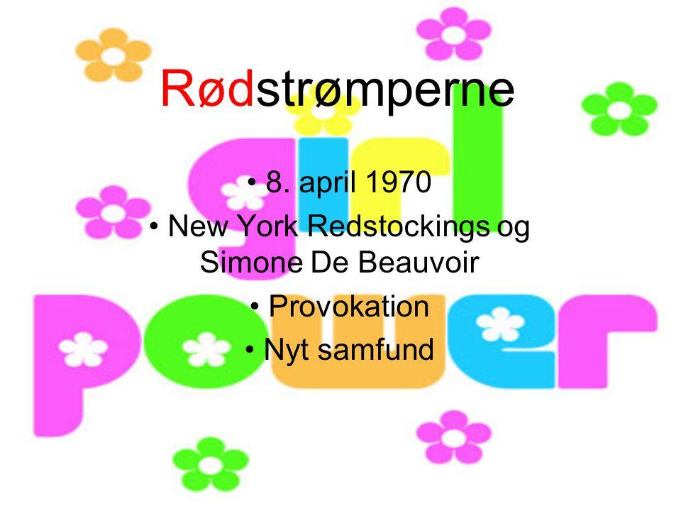 New York Redstockings og Simone De Beauvoir