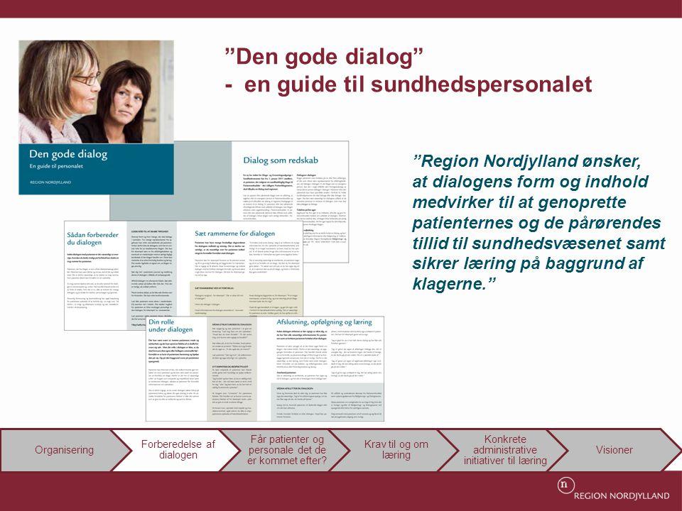 Den gode dialog - en guide til sundhedspersonalet