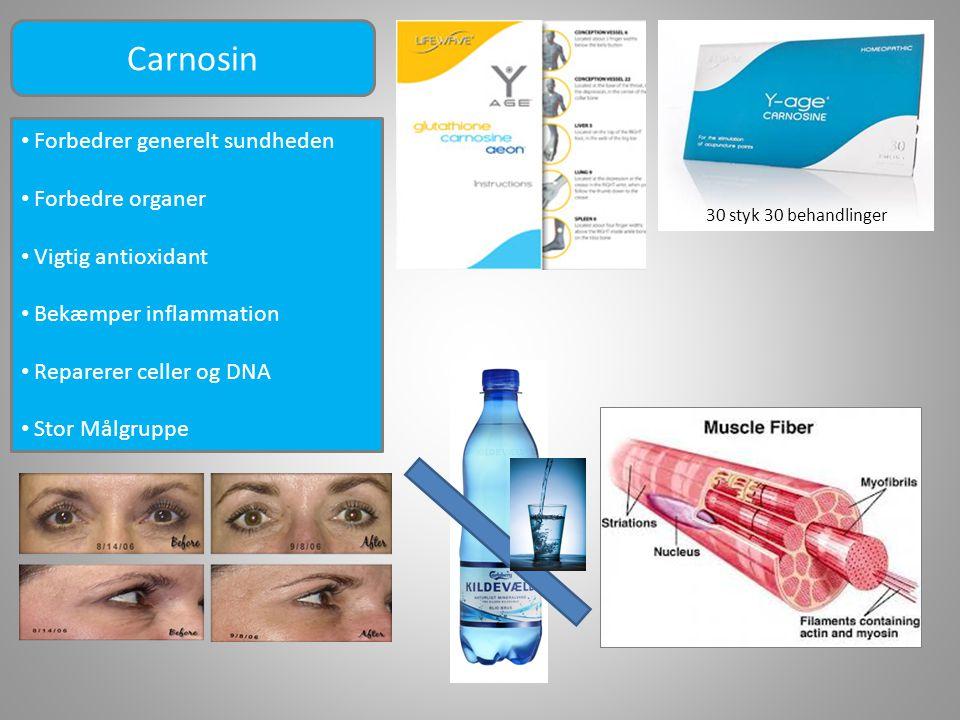 Carnosin Forbedrer generelt sundheden Forbedre organer