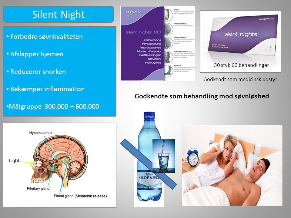 Silent Night Forbedre søvnkvaliteten Afslapper hjernen