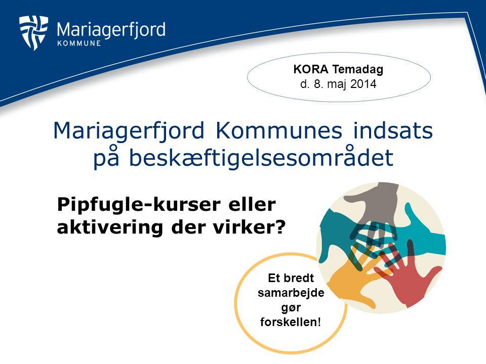 Mariagerfjord Kommunes indsats på beskæftigelsesområdet
